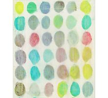 Yellow, Green, Red Spots Photographic Print