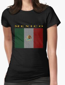 MEXICO, STAR Womens Fitted T-Shirt