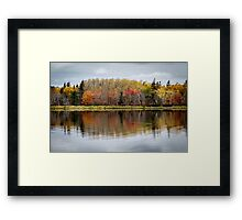 Fall in Cape Breton Framed Print