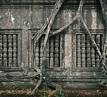Beng Mealea Detail#1 by Nicolas Noyes