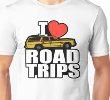 I Heart Road Trips Unisex T-Shirt