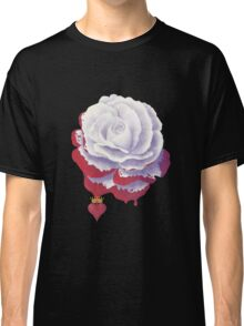 Painted Rose cut out Classic T-Shirt