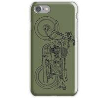 1973 Honda CB350 iPhone Case/Skin
