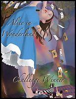 Alice in Wonderland Winner Banner Entry by Audra Lemke