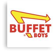 Buffet Boys Canvas Print