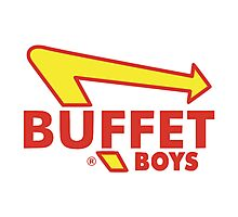 Buffet Boys Photographic Print