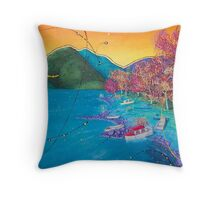 A Universal Scene #5  Throw Pillow
