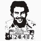 Pablo Escobar Mugshot by RiMKO