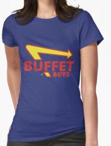 Buffet Boys Womens Fitted T-Shirt
