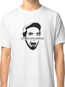 Gavin Screaming T-shirt Classic T-Shirt