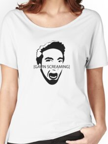 Gavin Screaming T-shirt Women's Relaxed Fit T-Shirt