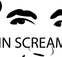 Gavin Screaming T-shirt Sticker