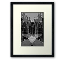 Lost in a Maze Framed Print
