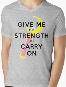 Carry On Mens V-Neck T-Shirt