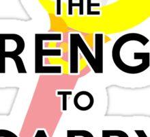 Carry On Sticker