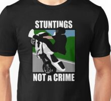 Stuntings Not A Crime (Pop Art) Unisex T-Shirt