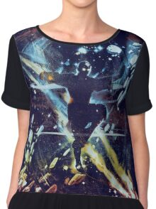 dancing with elements Women's Chiffon Top