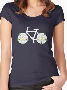 Ride Yorkshire! Women's Fitted Scoop T-Shirt