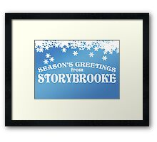 Season's Greetings from Storybrooke Framed Print