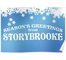 Season's Greetings from Storybrooke Poster