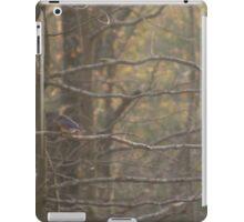 Autumn Woodlands with Bluebird iPad Case/Skin