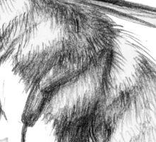 Bumblebee Sketch Sticker