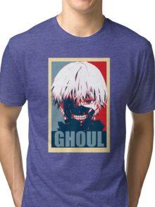 Kaneki Tokyo Ghoul Tri-blend T-Shirt