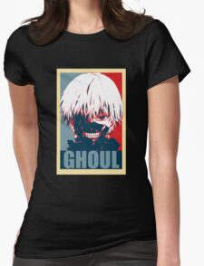 Kaneki Tokyo Ghoul Womens Fitted T-Shirt