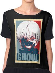 Kaneki Tokyo Ghoul Chiffon Top