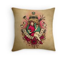 Soufflé Girl - Print Throw Pillow