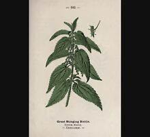 Wayside and woodland blossoms a pocket guide to British wild flowers for the country rambler  by Edward Step 1895 103 Great Stinging Nettle Unisex T-Shirt