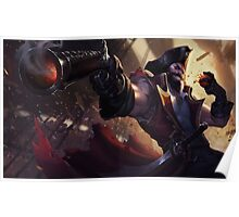 Gangplank - The Saltwater Scourge Poster