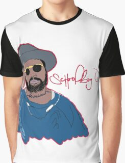 ScHoolboy Q - Cartoon Graphic T-Shirt