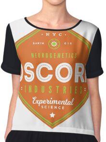 OSCORP Industries Chiffon Top