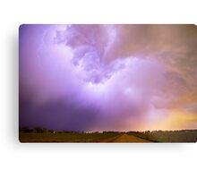 Thunderstorm Tidal Wave Metal Print