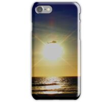 Chopping the Sunset! iPhone Case/Skin