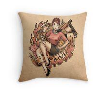 DUH! - Print Throw Pillow