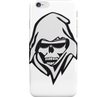 Death sunglasses iPhone Case/Skin