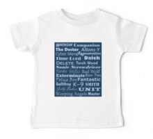 Doctor Who Text Baby Tee