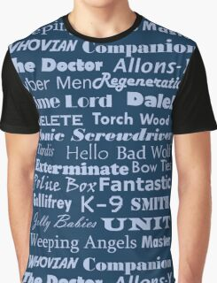 Doctor Who Text Graphic T-Shirt