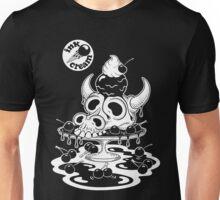 Inkcream Cow Skull Unisex T-Shirt