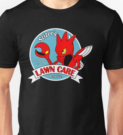 Scizor's Lawn Care Unisex T-Shirt