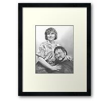 JR & Zoe Framed Print