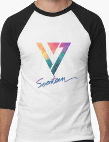 Seventeen Kpop T-Shirts Men's Baseball ¾ T-Shirt