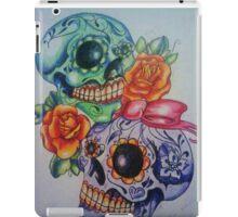 Marriage skulls iPad Case/Skin