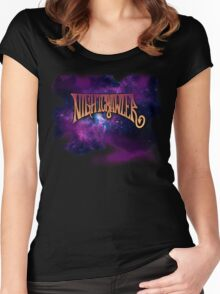 Nightcrawler 02 Women's Fitted Scoop T-Shirt