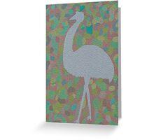 Emu Greeting Card