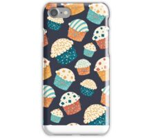Cute party cupcake design iPhone Case/Skin