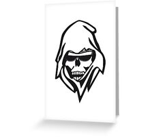 Death sunglasses Greeting Card