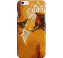 Mask, candle, & crown iPhone Case/Skin